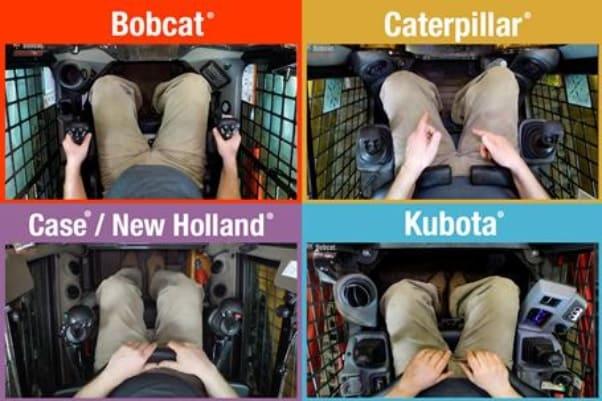 Сравнение кабин от разных брендов погрузчиков