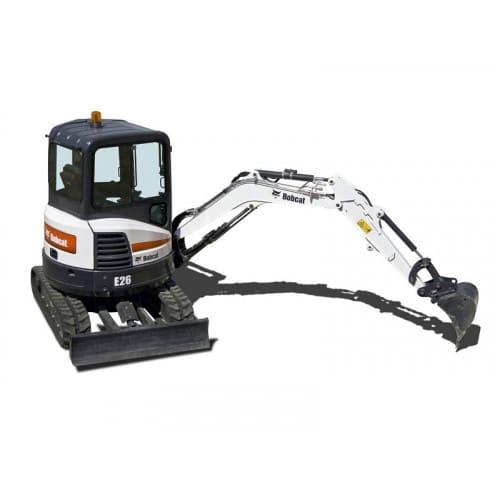 Мини-экскаватор Bobcat E26