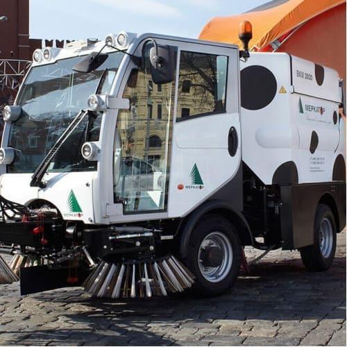 Подметально-вакуумная машина Bucher Citycat 2020