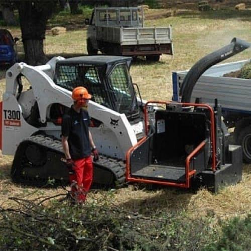 Измельчитель древесины для Bobcat