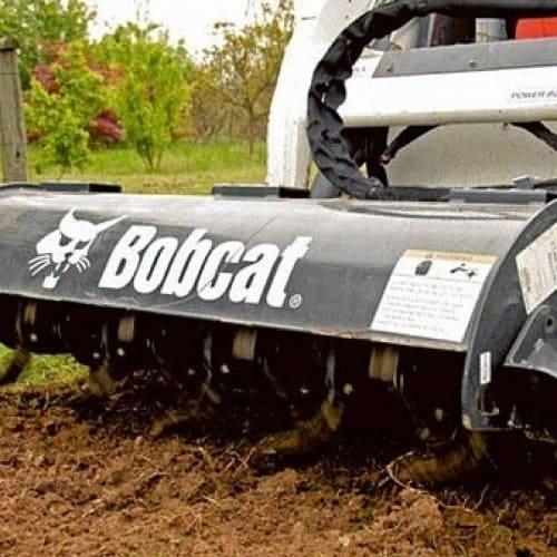 Культиватор роторный для Bobcat