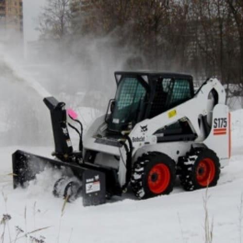 Снегометатель роторный для Bobcat