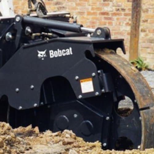 Уплотнитель траншейный для Bobcat