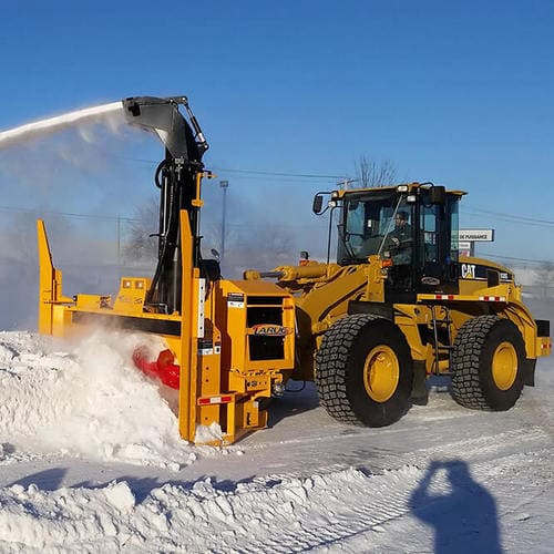 Шнеко-роторное снегоочистительное оборудование Larue D40