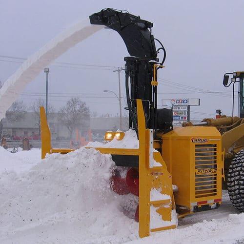 Шнеко-роторное снегоочистительное оборудование Larue D50