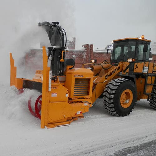 Фрезерно-роторное снегоочистительное оборудование Larue D55