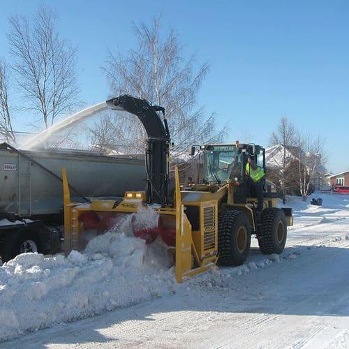Шнеко-роторное снегоочистительное оборудование Larue D60
